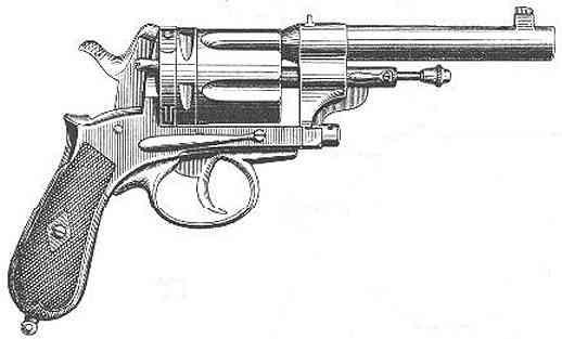 Gasser Revolver Gasser M1870/74 Revolver