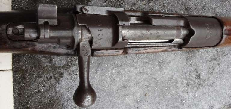 Turkish Mauser M1903 Infantry Rifle, Used by Austro-Hungary