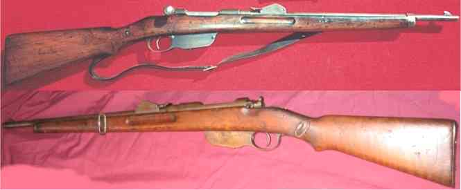 Mannlicher M1890 Carbines Austro-Hungarian Weapons